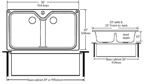 what size sink for 33 base cabinet standard kitchen sink sizes explained morningtobed