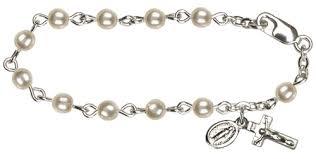 baby rosary bracelet baby rosary bracelet st jude shop inc