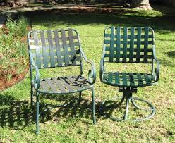 Repair Webbing On Patio Chair Winston Patio Furniture Vinyl Strap Replacements In California