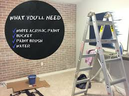 white wash faux brick u2013 jaclyn colville