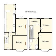 semi detached floor plans glamorous floor plans for semi detached houses contemporary best
