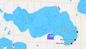 Alexandria On A Map Lake Miltona Map Alexandria Mn Fishing Map Visit Lake Miltona