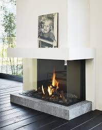 modern glass fireplace doors best 25 double sided fireplace ideas on pinterest double