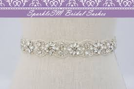 wedding sashes bridal sash rhinestone bridal beaded rhinestone