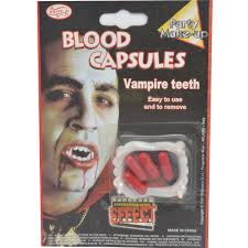 aliexpress com buy 1pcs blood capsules vampire teeth 2017 new 1