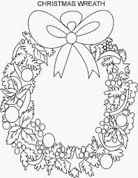coloring pages wreaths coloring pages free and printable