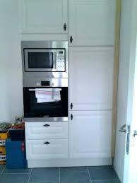 meuble de cuisine four meuble cuisine micro onde desserte bois 1 tiroir 3 niches 2 caissons