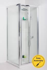 bi fold door shower enclosures