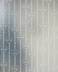 silver wrapping paper hearts on silver wrapping paper 20 total sq ft american greetings
