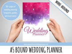 of honor planner book custom ultimate wedding planner a5 wedding organizer wedding