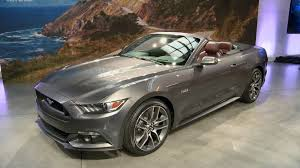 Black 2015 Ford Mustang 2015 Ford Mustang Convertible Nyc Youtube