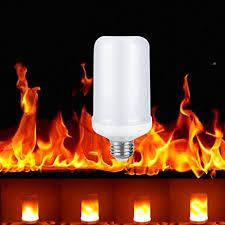 led flame effect fire light bulbs amazon com 7w led flame effect fire light bulbs creative lights
