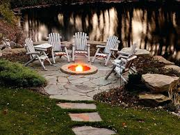 Backyard Patio Stones Patio Ideas Backyard Fire Pit Ideas And Designs For Your Yard