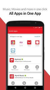 free my apps apk my airtel app apk recharge pay bills v4 2 7 2 free