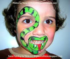 coloring page breathtaking snake face painting coloring page