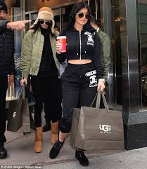 ugg boots sale secret kendall jenner shops with after stunning at s