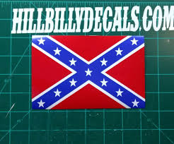 Confederate Flag Rear Window Decal Confederate Battle Flag Vinyl Decal U2013 Hillbilly Decals Vinyl