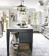 Carolina Country Kitchen - southern style beautiful homes in charleston south carolina