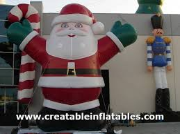Rooftop Christmas Decorations For Sale by Giant Christmas Inflatables Inflatable Snowman Blow Up Santa