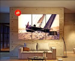 sailboat home decor wall ideas sailboat wall art sailboat wall art metal graham and
