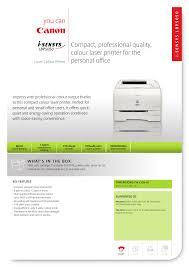 canon printer manuals canon i sensys colour laser printer lbp5050 user manual 2 pages