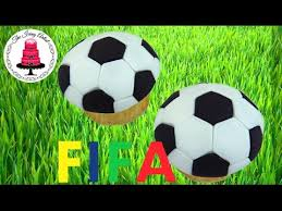 fifa world cup easy soccer ball cupcake how to with the icing