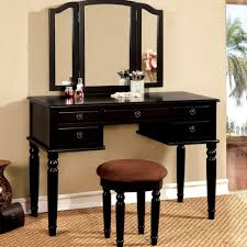 Makeup Vanity With Lights Makeup Vanity Black Vanity Makeup Table Outstanding Picture