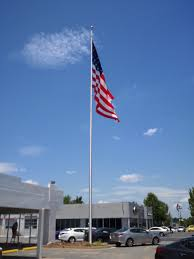 Wall Mount Flag Pole Buy 60 Ft Commercial Flagpole With External Halyard Rated At