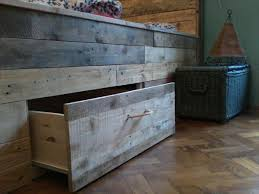 Beds With Drawers Pallet Bed Tutorial Built In Drawers Under The Bed 101 Pallets