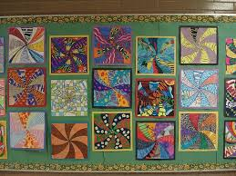 pattern art name tried it tuesday kaleidoscopes easy math and art lessons
