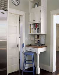 small kitchen desk ideas 33 tiny yet functional home office designs digsdigs