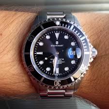 Flexibler Uhrmacher Arbeitstisch Uhrforum Aller Guten Dinge Sind 3 Steinhart Ocean One Black Uhrforum