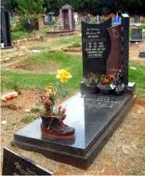 tombstone designs a tombstone that incorporates rustenburg grey granite and