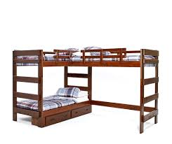 Bunk Beds Heartland L Shaped Loft Bunk Bed Bunk Bed For 3