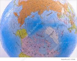 North Pole Map Globe Map Puzzle North Pole Photo