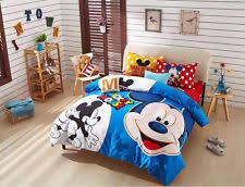 Mickey Mouse Queen Size Bedding Kids U0026 Teens Comforters U0026 Sets Ebay