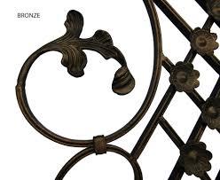 decorative wrought iron wall hanging signature 6183 superior