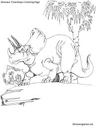dinosaur triceratops 2 coloring page dinosaur coloring pages