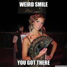 Weird Smile Meme - image jpg
