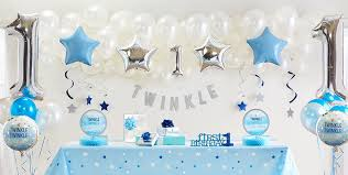 twinkle twinkle party supplies blue twinkle twinkle gender neutral 1st birthday party