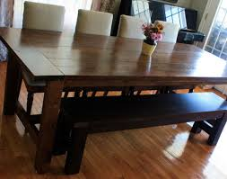 kitchen and dining room sets bench modern dining room table with bench amazing kitchen table
