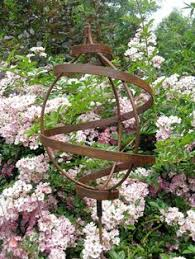 cc rustics jake challenger ornamental iron plant supports from
