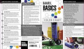 painting manual basics color chart 2007