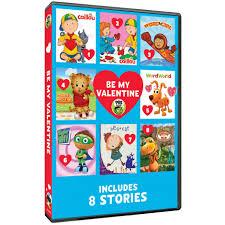 pbs kids be my valentine dvd shop pbs org