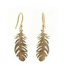 silver feather earrings silver feather earrings