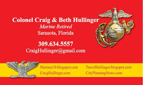 Marine Business Cards Marines 10 Fourragere Fifth And Sixth Marines