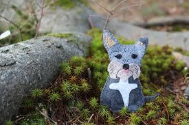 a gidget puppy ornament downeast thunder farm