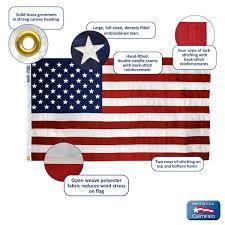 Flag Etiquette Brewer Banner Designs Massachusetts American Flag 5 Ft X 8 Ft