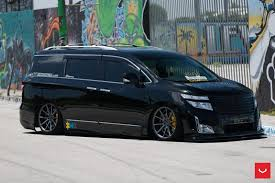 2017 nissan minivan bagged nissan quest on vossen wheels could start a new trend