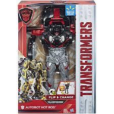 transformers autobots unite flip and change autobot rod